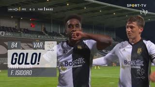 GOLO! SC Farense, F. Isidoro aos 84', FC P.Ferreira 0-2 SC Farense