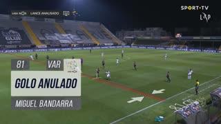 SC Farense, Golo Anulado, Miguel Bandarra aos 81'