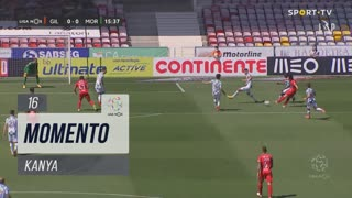 Gil Vicente FC, Jogada, Kanya aos 16'