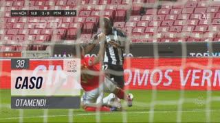SL Benfica, Caso, Otamendi aos 38'
