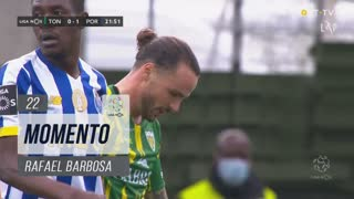 CD Tondela, Jogada, Rafael Barbosa aos 22'