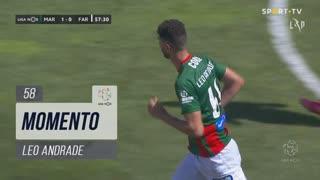 Marítimo M., Jogada, Leo Andrade aos 58'