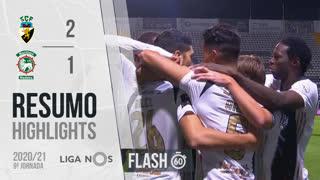 Liga NOS (9ªJ): Resumo Flash SC Farense 2-1 Marítimo M.