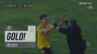 GOLO! FC P.Ferreira, Hélder aos 76', FC P.Ferreira 2-0 SC Braga