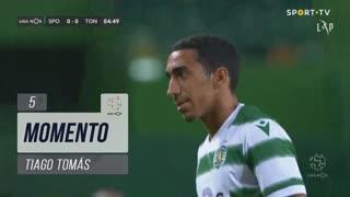 Sporting CP, Jogada, Tiago Tomás aos 5'