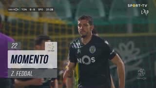 Sporting CP, Jogada, Z. Feddal aos 22'