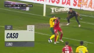 Gil Vicente FC, Caso, Lino aos 32'