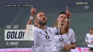 GOLO! Vitória SC, A. André aos 58', CD Tondela 0-1 Vitória SC