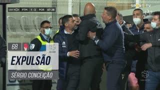FC Porto, Expulsão, Sérgio aos 68'