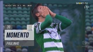 Sporting CP, Jogada, Paulinho aos 39'