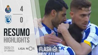 Liga NOS (34ªJ): Resumo Flash FC Porto 4-0 Belenenses SAD