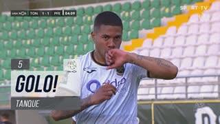 GOLO! FC P.Ferreira, Tanque aos 5', CD Tondela 1-1 FC P.Ferreira