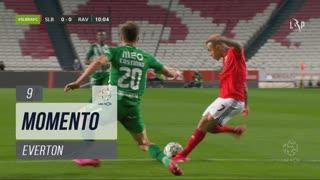 SL Benfica, Jogada, Everton aos 9'