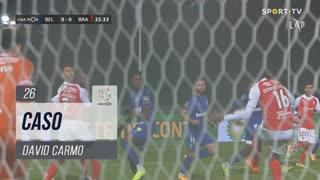 SC Braga, Caso, David Carmo aos 26'