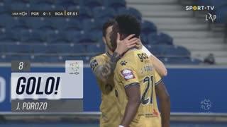 GOLO! Boavista FC, J. Porozo aos 8', FC Porto 0-1 Boavista FC