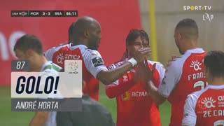 GOLO! SC Braga, André Horta aos 87', Moreirense FC 0-4 SC Braga