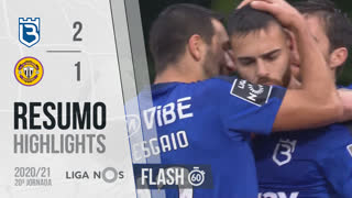 Liga NOS (20ªJ): Resumo Flash Belenenses SAD 2-1 CD Nacional
