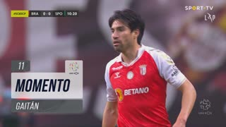 SC Braga, Jogada, Gaitán aos 11'
