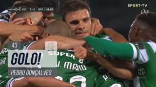 GOLO! Sporting CP, Pedro Gonçalves aos 43', Vitória SC 0-2 Sporting CP