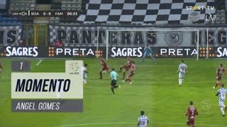 Boavista FC, Jogada, Angel Gomes aos 1'