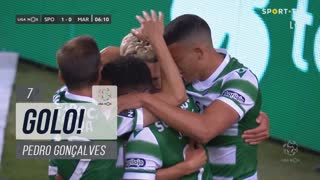 GOLO! Sporting CP, Pedro Gonçalves aos 7', Sporting CP 1-0 Marítimo M.