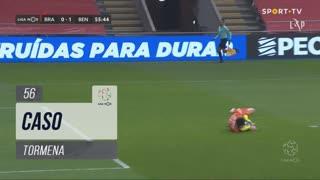 SC Braga, Caso, Tormena aos 56'