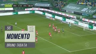 Sporting CP, Jogada, Bruno Tabata aos 56'