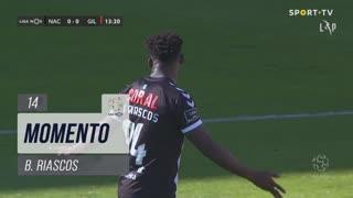 CD Nacional, Jogada, B. Riascos aos 14'