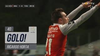 GOLO! SC Braga, Ricardo Horta aos 40', SC Braga 2-0 CD Tondela