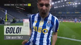GOLO! FC Porto, Toni Martínez aos 90'+5', FC Porto 2-1 Santa Clara