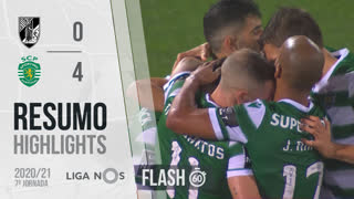 I Liga (7ªJ): Resumo Flash Vitória SC 0-4 Sporting CP