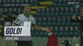 GOLO! Vitória SC, Quaresma aos 27', Santa Clara 0-2 Vitória SC