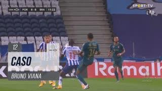 SC Braga, Caso, Bruno Viana aos 12'