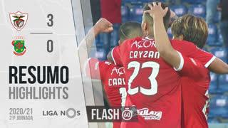 I Liga (21ªJ): Resumo Flash Santa Clara 3-0 FC P.Ferreira