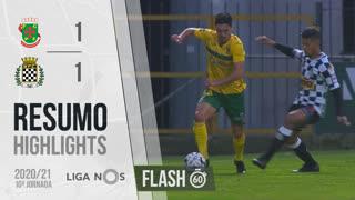Liga NOS (10ªJ): Resumo Flash FC P.Ferreira 1-1 Boavista FC