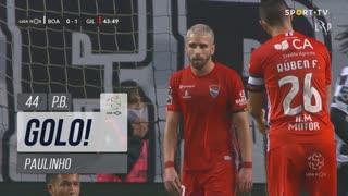 GOLO! Boavista FC, Paulinho (p.b.) aos 44', Boavista FC 1-1 Gil Vicente FC