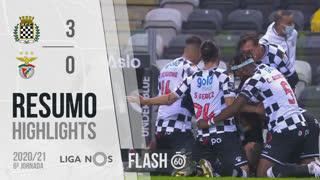 Liga NOS (6ªJ): Resumo Flash Boavista FC 3-0 SL Benfica