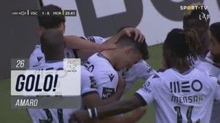 GOLO! Vitória SC, Amaro aos 26', Vitória SC 1-0 Moreirense FC
