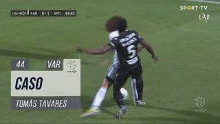 SC Farense, Caso, Tomás Tavares aos 44'