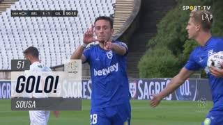 GOLO! Belenenses SAD, Sousa aos 51', Belenenses SAD 1-1 Gil Vicente FC