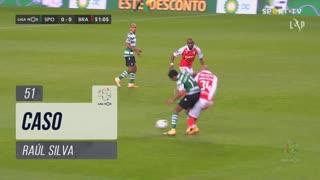 SC Braga, Caso, Raúl Silva aos 51'