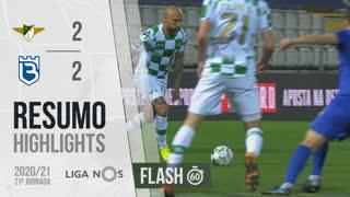 Liga NOS (21ªJ): Resumo Flash Moreirense FC 2-2 Belenenses SAD