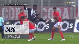 SL Benfica, Caso, L. Verissimo aos 40'