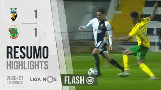 Liga NOS (11ªJ): Resumo Flash SC Farense 1-1 FC P.Ferreira