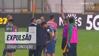 FC Porto, Expulsão, Sérgio aos 90'+8'