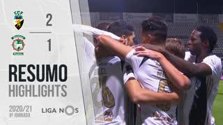 Liga NOS (9ªJ): Resumo SC Farense 2-1 Marítimo M.