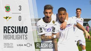 Liga NOS (24ªJ): Resumo Flash FC P.Ferreira 3-0 Moreirense FC