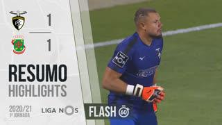 Liga NOS (1ªJ): Resumo Flash Portimonense 1-1 FC P.Ferreira