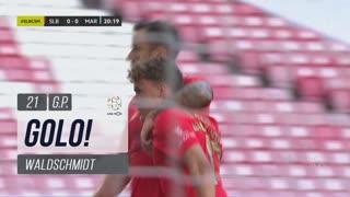 GOLO! SL Benfica, Waldschmidt aos 21', SL Benfica 1-0 Marítimo M.