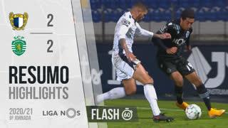 I Liga (9ªJ): Resumo Flash FC Famalicão 2-2 Sporting CP